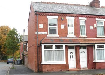 Thumbnail 3 bedroom terraced house to rent in Cromwell Avenue, Whalley Range, Manchester