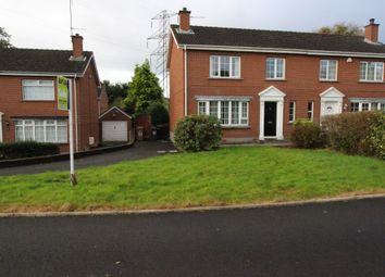 Thumbnail 3 bed semi-detached house for sale in Berkley Court, Belfast