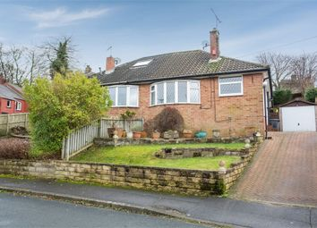 Thumbnail 2 bed semi-detached bungalow for sale in Mount Gardens, Cleckheaton, West Yorkshire