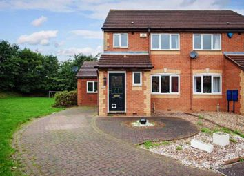 Thumbnail 3 bed semi-detached house for sale in Newbolt Close, Newport Pagnell
