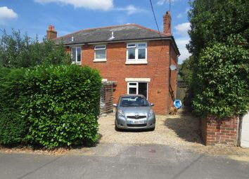 Thumbnail 2 bed semi-detached house for sale in Witt Road, Fair Oak, Eastleigh