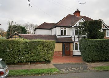 Thumbnail 6 bed semi-detached house for sale in Hillview Road, Hatch End, Pinner