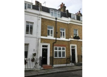 Thumbnail 4 bedroom terraced house for sale in Longmoore Street, Pimlico