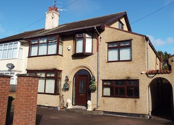 Thumbnail 6 bed semi-detached house for sale in Croft Avenue, Bromborough, Wirral