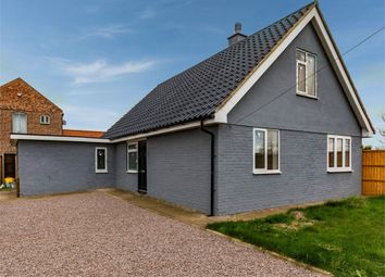 Thumbnail 3 bed detached house for sale in Boston Road, Sibsey, Boston, Lincolnshire