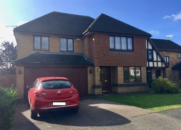Thumbnail 4 bedroom detached house for sale in Harris Close, Wootton, Northampton