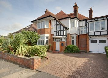 Thumbnail 5 bedroom link-detached house for sale in Branscombe Gardens, Winchmore Hill