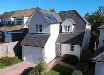 Thumbnail 3 bed detached house for sale in Brooklands Close, Farnham, Surrey