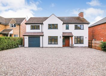 Thumbnail 4 bed detached house for sale in Homefield Lane, Rugby Road, Dunchurch, Rugby