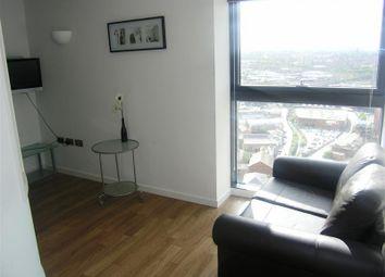 Thumbnail 1 bed flat to rent in Bridgewater Place, Water Lane, Leeds