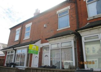 Thumbnail 3 bedroom property to rent in Newcombe Road, Handsworth, Birmingham