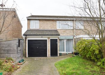 Thumbnail 3 bedroom semi-detached house for sale in Holyrood Close, Caversham, Reading