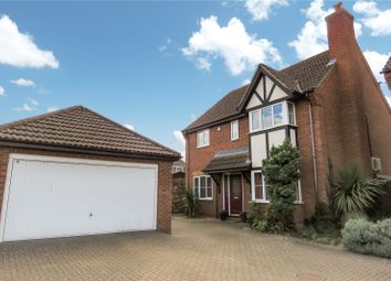 Thumbnail 4 bed detached house for sale in Teal Road, Biggleswade, Bedfordshire
