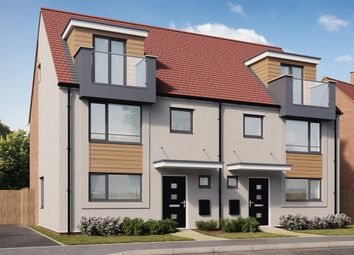 "Thumbnail 4 bed semi-detached house for sale in ""The Leicester "" at Hayfield Way, Bishops Cleeve, Cheltenham"