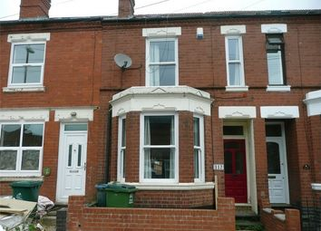 Thumbnail 4 bed terraced house to rent in Newcombe Road, Earlsdon, Coventry, West Midlands