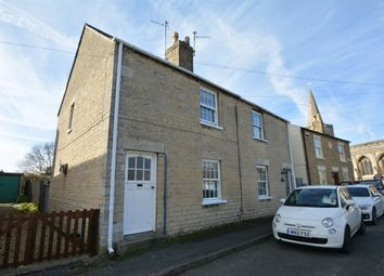 Thumbnail 2 bed cottage to rent in Church Street, Deeping St James, Peterborough