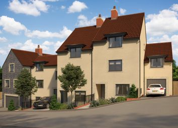 Thumbnail 3 bedroom town house for sale in Pippards Court, Off Pesters Lane, Somerton, Somerset