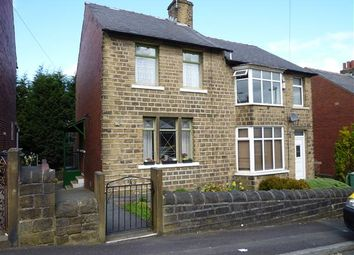 Thumbnail 2 bed semi-detached house for sale in William Street, Crosland Moor, Huddersfield