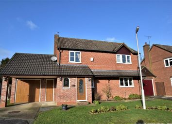 Thumbnail 3 bed detached house for sale in Sorrel Close, Burghfield Common, Reading