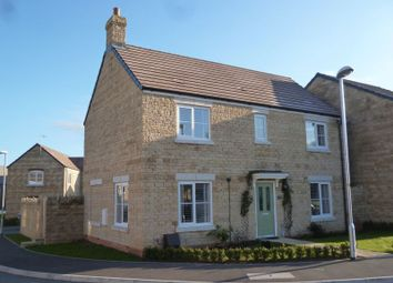 Thumbnail 4 bed detached house for sale in Fitzgerold Avenue, Highworth, Swindon