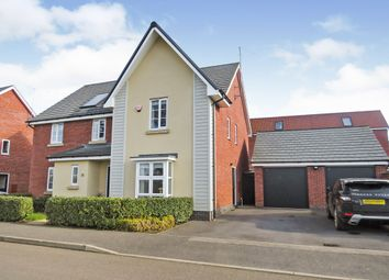 Thumbnail 5 bed detached house for sale in Towpath Avenue, Northampton