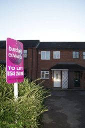 Thumbnail 2 bed town house to rent in Forrester Close, Fradley, Lichfield