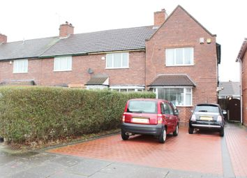 Thumbnail 2 bed end terrace house for sale in Somercotes Road, Great Barr, Birmingham