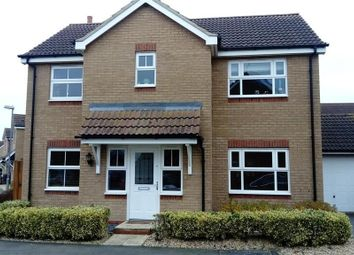 Thumbnail 4 bed detached house to rent in Oxfield Drive, Gorefield, Wisbech