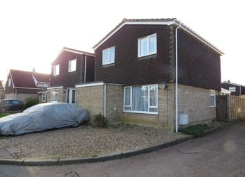 Thumbnail 3 bedroom detached house for sale in Ashleigh Gardens, Wymondham