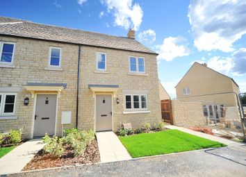 Thumbnail 2 bed semi-detached house for sale in Skylark Road, Bourton On The Water