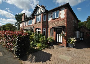 Thumbnail 4 bed semi-detached house for sale in Stanley Avenue, Stockton Heath, Warrington
