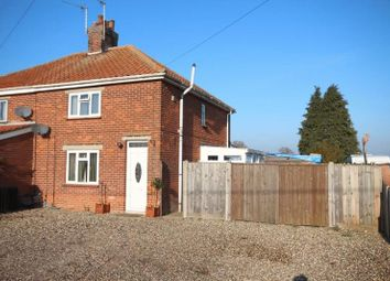 Thumbnail 3 bed semi-detached house for sale in Elderbush Lane, Catfield, Great Yarmouth