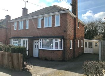 Thumbnail 3 bed semi-detached house for sale in Woodbank Road, Groby, Leicester