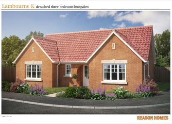 Thumbnail 3 bedroom detached bungalow for sale in Farriers Road, Stowmarket