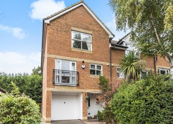 Thumbnail 3 bed town house for sale in Alexandra Gardens, Knaphill, Woking