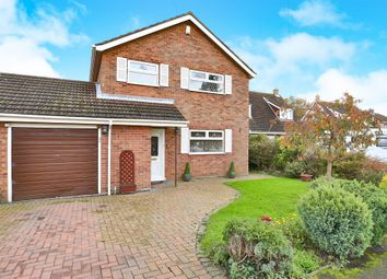 Thumbnail 3 bed link-detached house for sale in Old Hall Road, Toftwood, Dereham