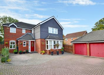 Thumbnail 4 bed detached house for sale in Dean Way, Storrington, West Sussex