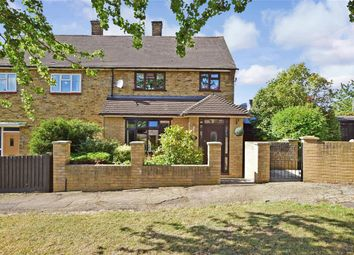 Thumbnail 3 bed semi-detached house for sale in Wigton Road, Harold Hill, Essex