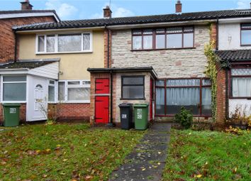 3 bed terraced house for sale in Crabtree Close, Redditch, Worcestershire B98