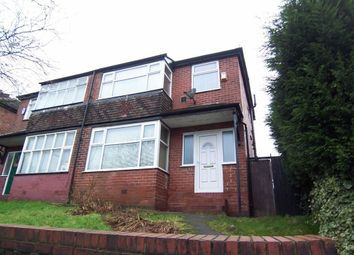 Thumbnail 3 bedroom property to rent in Rochdale Road, Blackley, Manchester