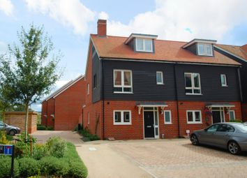 Thumbnail 4 bed semi-detached house to rent in Schuster Close, Cholsey, Wallingford