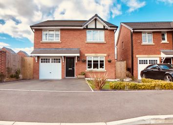 Thumbnail 4 bed detached house for sale in Frank Keating Close, Haslington, Crewe