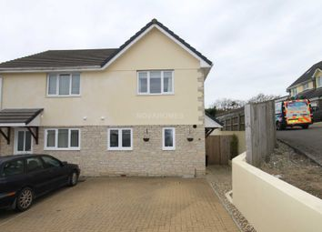 Thumbnail 3 bed semi-detached house for sale in Petroc Court, St Anns Chapel
