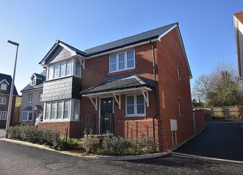 Thumbnail 4 bed detached house for sale in Sentrys Orchard, Exminster, Near Exeter