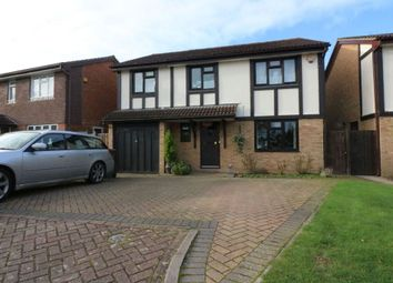 Thumbnail 5 bed detached house for sale in Rydal Way, Egham