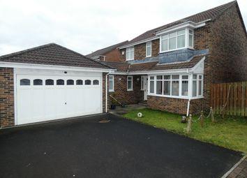Thumbnail 4 bed semi-detached house for sale in Wheatfields, Seaton Delaval, Tyne & Wear