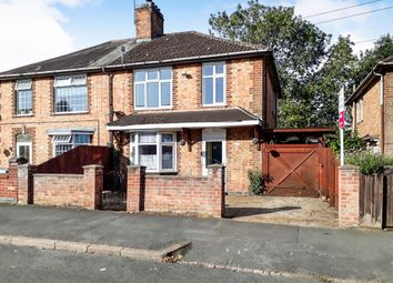 Thumbnail 3 bedroom semi-detached house for sale in Peverel Road, Braunstone, Leicester