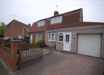 Thumbnail 2 bedroom semi-detached house for sale in Crescent Way, Forest Hall, Newcastle Upon Tyne