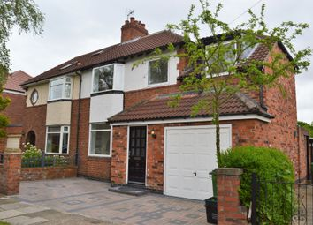 Thumbnail 4 bed semi-detached house to rent in Walney Road, Heworth, York