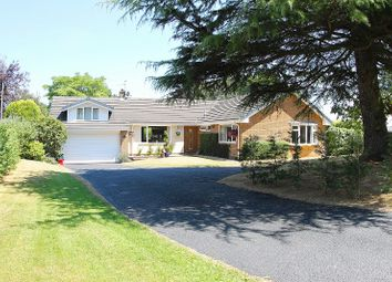 Thumbnail 6 bed detached bungalow for sale in The Stiles, Delamere Park, Cuddington, Northwich, Cheshire.